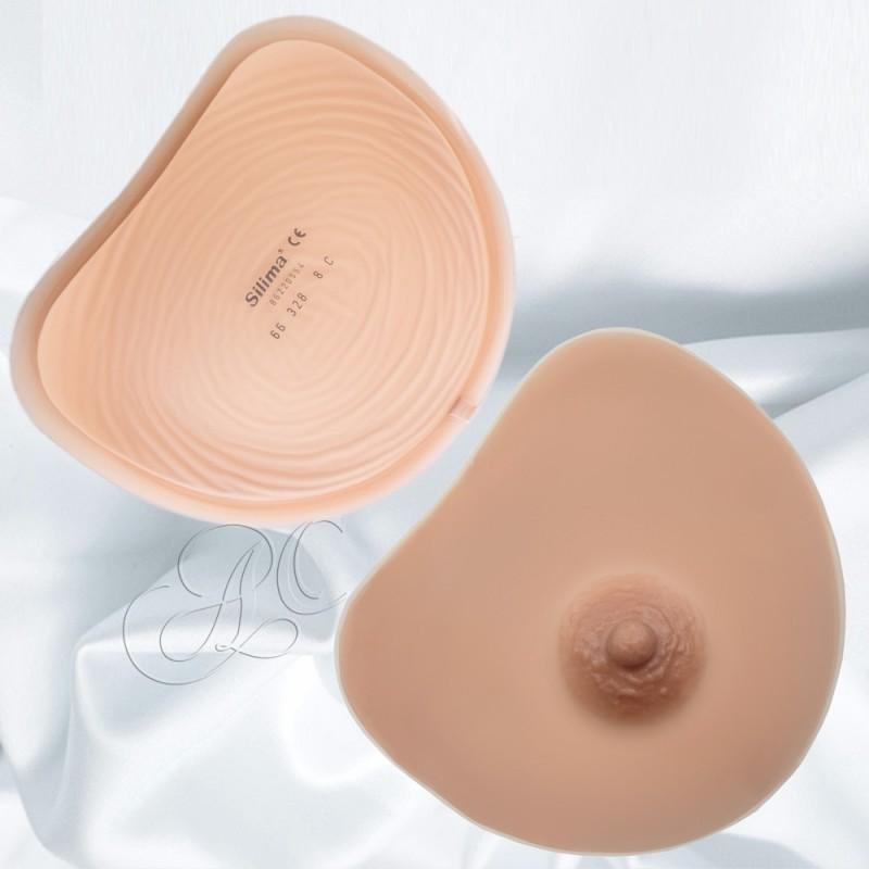 Prothèse mammaire soft & light, forme coeur