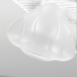 Prothèse en silicone transparente, pour nager