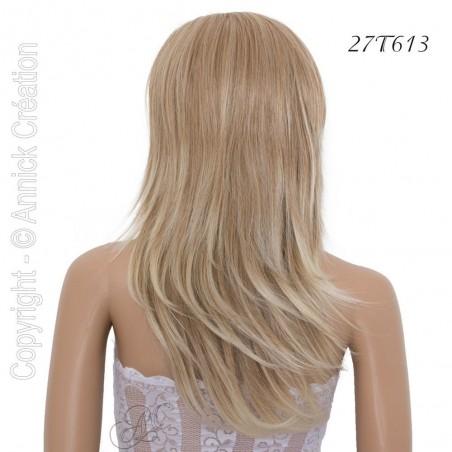 Perruque longue semi-naturelle, une coiffure de séduction