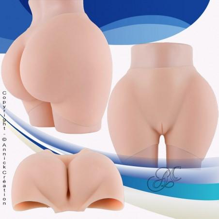 Panty en silicone haut de gamme, fesses et hanches