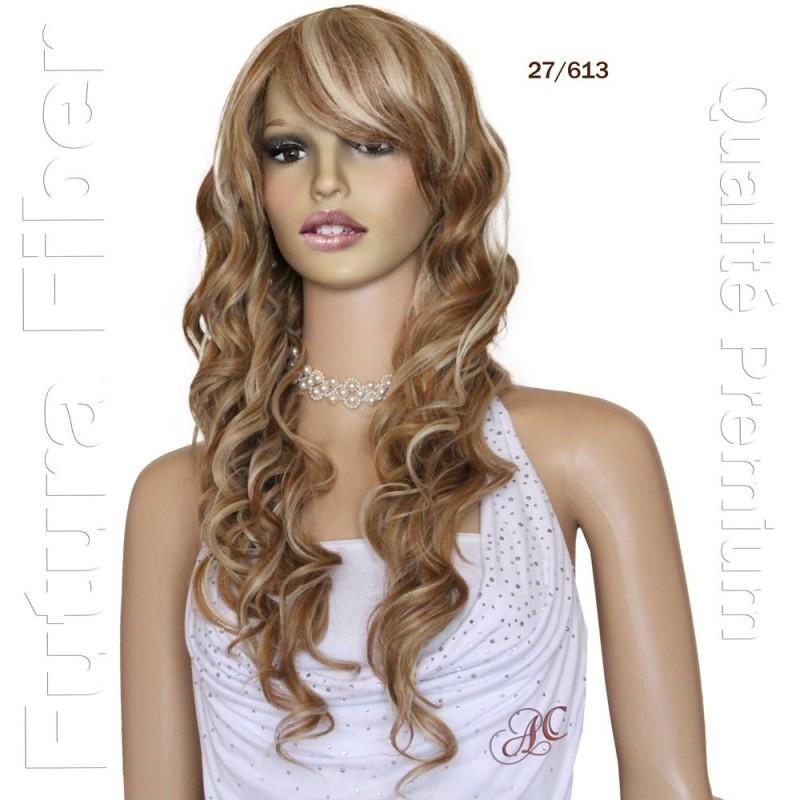 Perruque longue ondulée, une chevelure de sirène