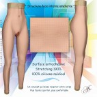 Legging réaliste en silicone, pour les trangenres