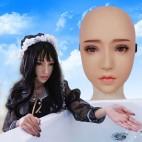 Masque féminin réaliste demi-tête, un réalisme surprenant