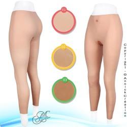 Legging faux vagin, en silicone